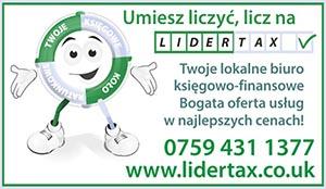 LIDERTAX - Twoje lokalne biuro księgowo-finansowe