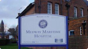 szpital w Gillingham