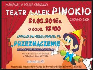 teatr lalek Pinokio