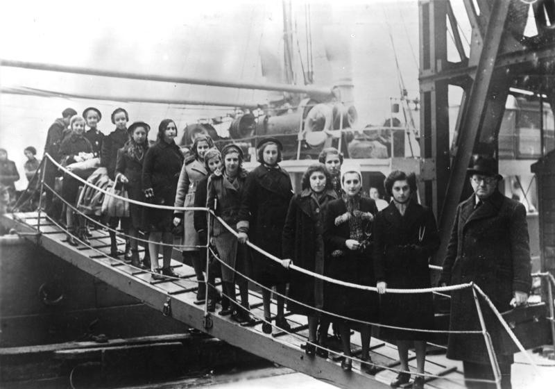Londyn 1939. Kindertransport żydowskich dzieci z Polski