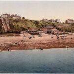Folkestone-England_west_cliff_Kent_stare_fotografie_1890