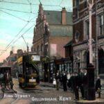 Gillingham_Kent_high_street_historia_zdjecia_photo