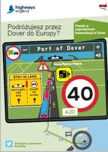 Dover Tap_transort_Tir_samochod ciezarowy Dover_ciezarowka UK_podroz przez Dover_porta DOVER