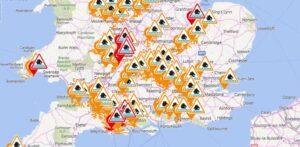 flood warnings_mapa powodziowa_ostrzezenie_Kent_UK