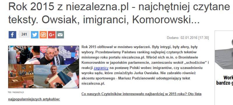 http://niezalezna.pl/74498-rok-2015-z-niezaleznapl-najchetniej-czytane-teksty-owsiak-imigranci-komorowski