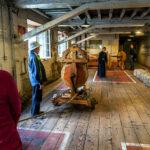 Doki w Chatham - interaktywne muzeum